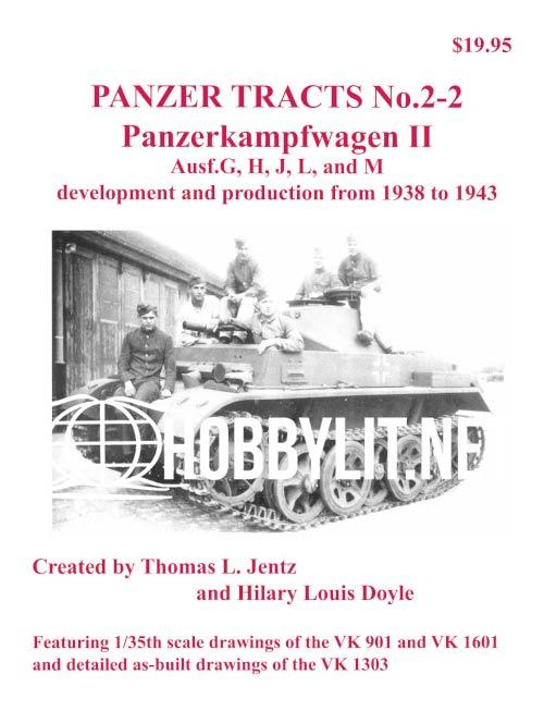 Panzer Tracts 2-2: Panzerkampwagen II