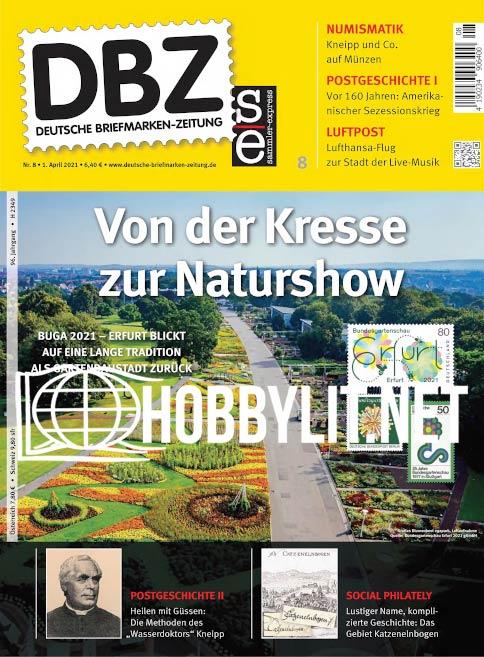Deutsche Briefmarken-Zeitung – 01 April 2021