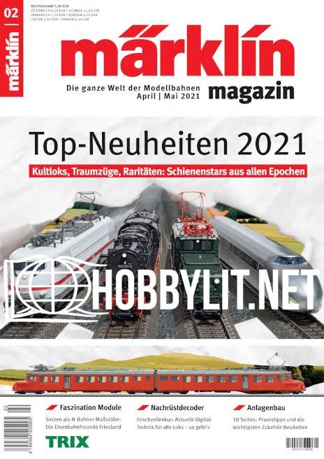 Märklin magazin – April/Mai 2021