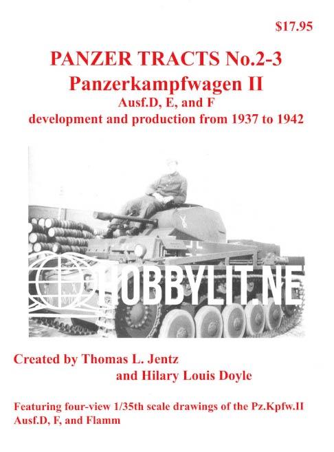Panzer Tracts 2-3: Panzerkampfwagen II
