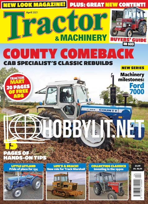 Tractor & Machinery - April 2021