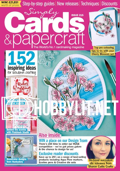 Simply Cards & Papercraft Issue 215