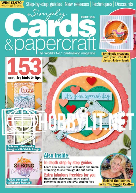 Simply Cards & Papercraft Issue 216