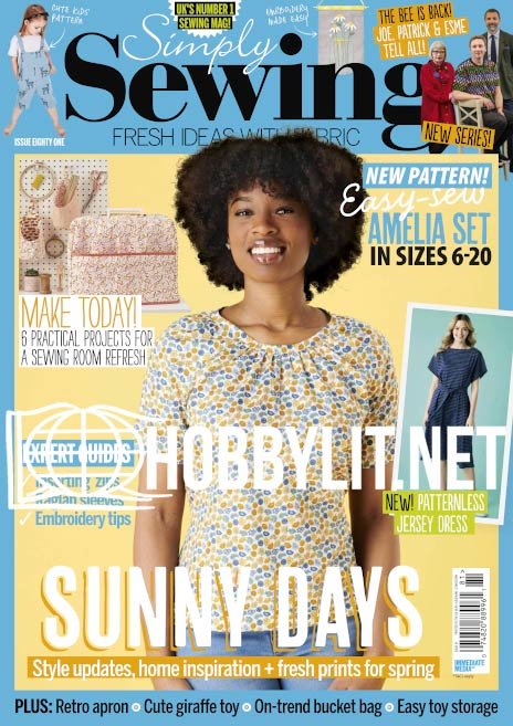 Simply Sewing Issue 81