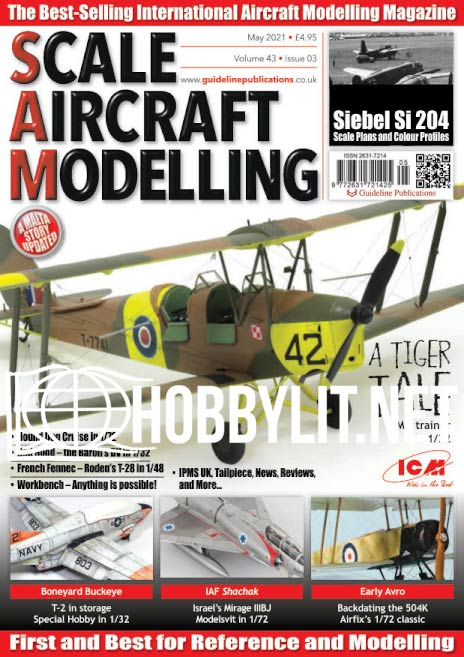 Scale Aircraft Modelling - May 2021 (Vol.43 Iss.3)