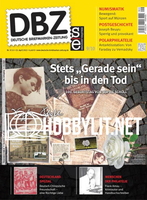 Deutsche Briefmarken-Zeitung - 23 April 2021