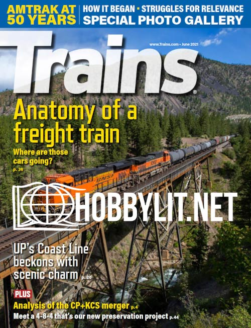 Trains - June 2021 (Vol.81 No.6)