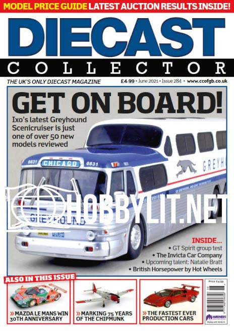 Diecast Collector - June 2021 (Iss.284)