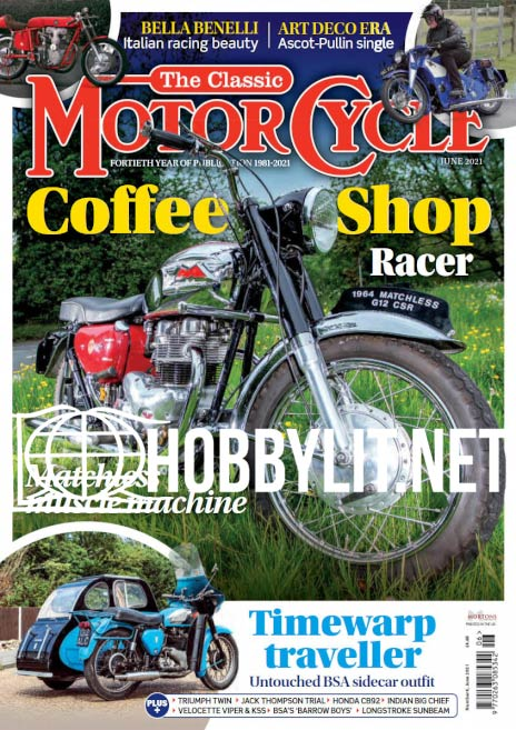 The Classic MotorCycle - June 2021