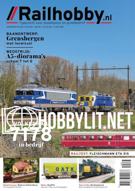 Railhobby - Mei/Juni 2021 (Iss.436)