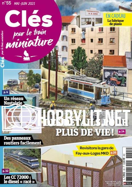 Clés pour le train miniature - Mai/Juin 2021 (No.55)