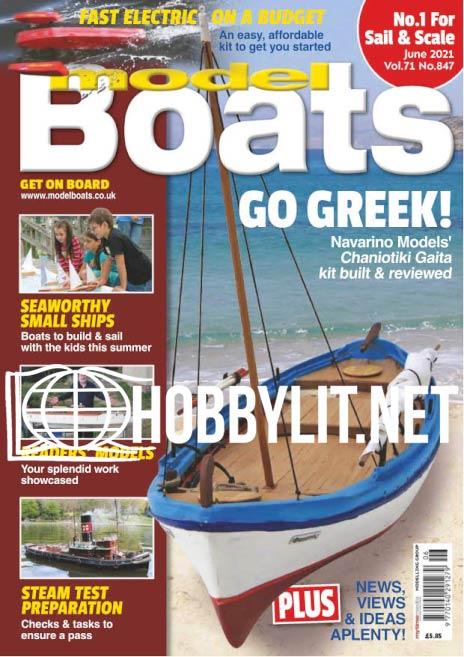 Model Boats - June 2021 (Vol.71 No.847)