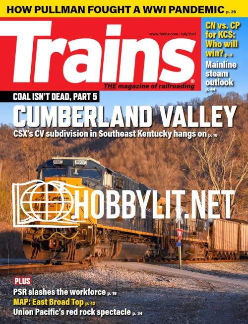 Trains - July 2021 (Vol.81 No.7)