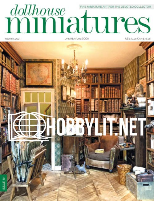 Dollhouse Miniatures Issue 81, 2021