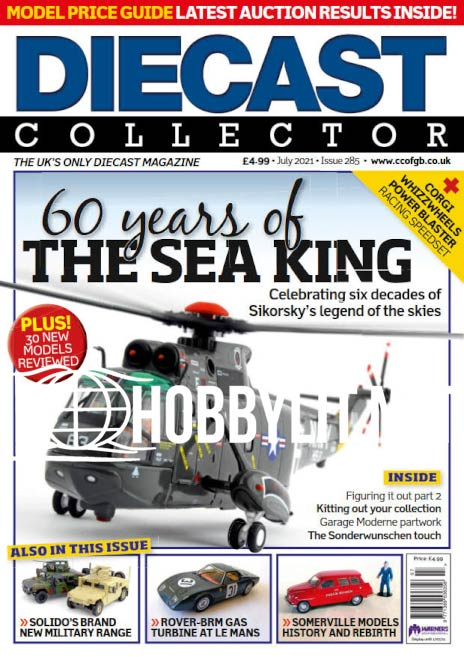 Diecast Collector - July 2021 (Iss.285)