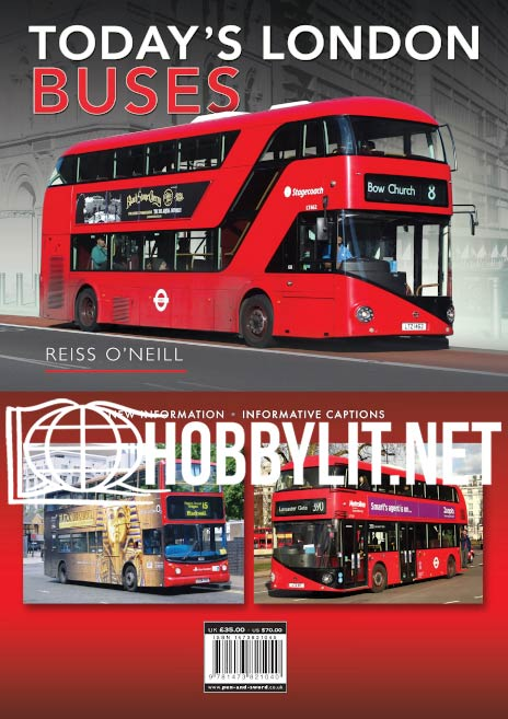 Today's London Buses