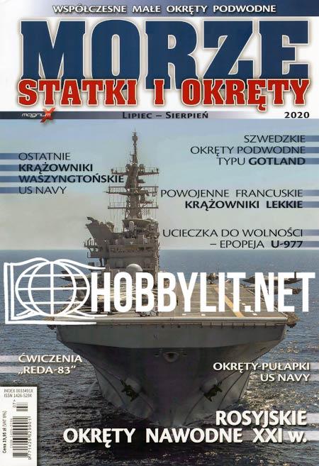 Morze Statki i Okrety 2020-07/08 (No.199)