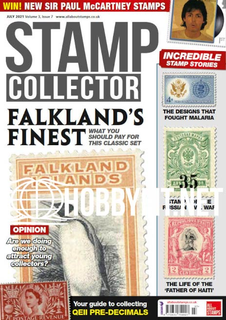 Stamp Collector – July 2021 (Vol.3 Iss.7)