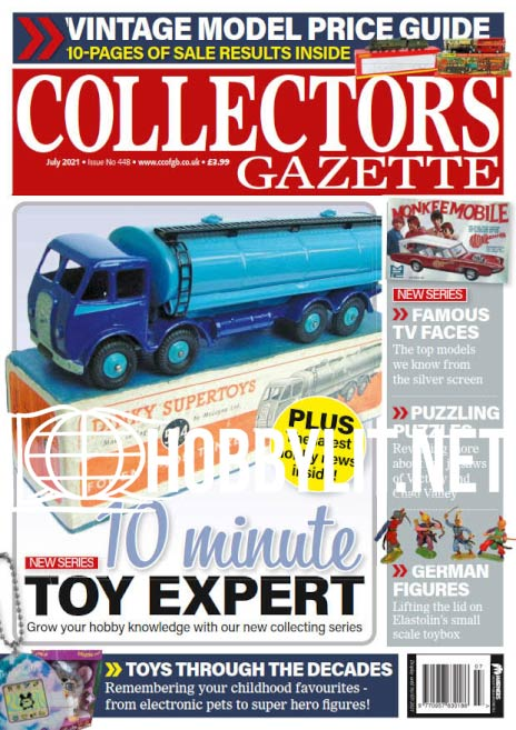 Collectors Gazette - July 2021 (Iss.448)
