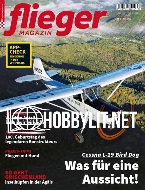 Fliegermagazin – Juli 2021