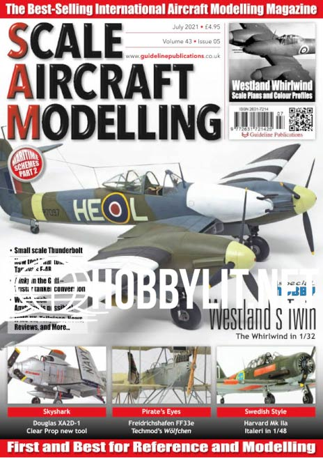 Scale Aircraft Modelling - July 2021 (Vol.43 Iss.5)