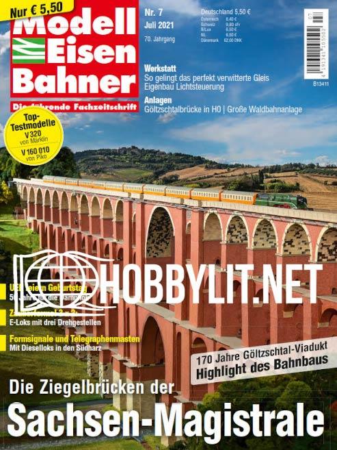 ModellEisenBahner - Juli 2021
