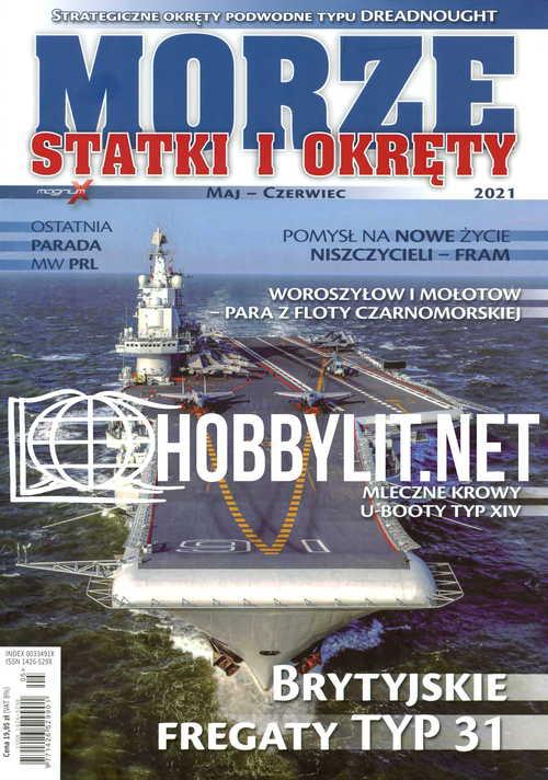 Morze Statki i Okrety 2021-05/06