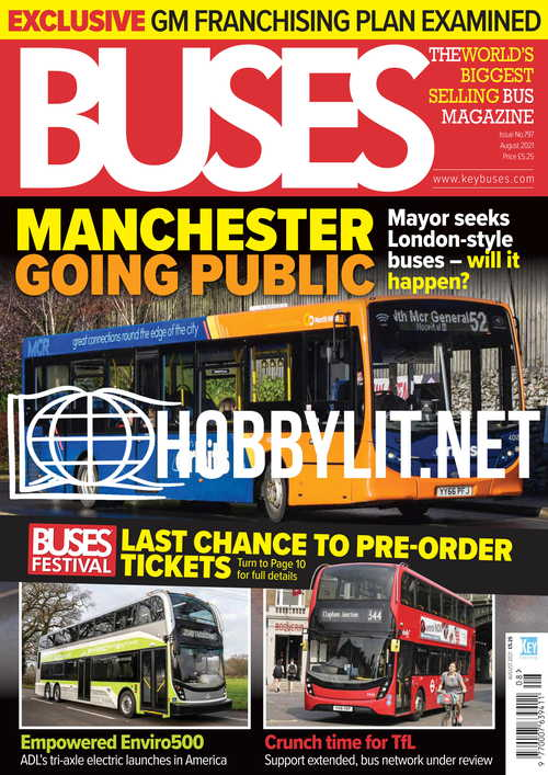 Buses - August 2021