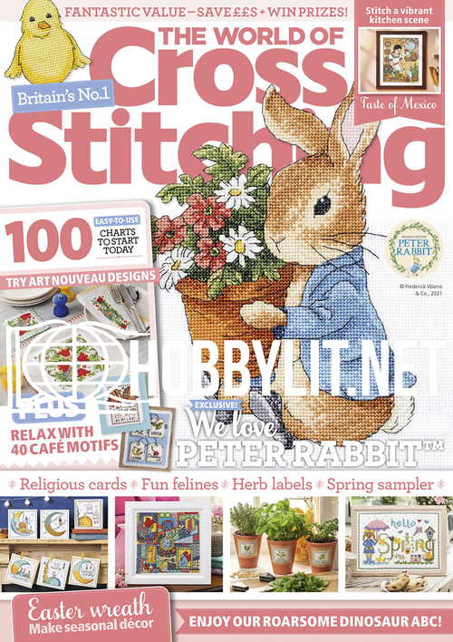 The World of Cross Stitching - April 2021