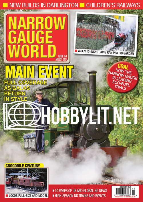 Narrow Gauge World - August 2021