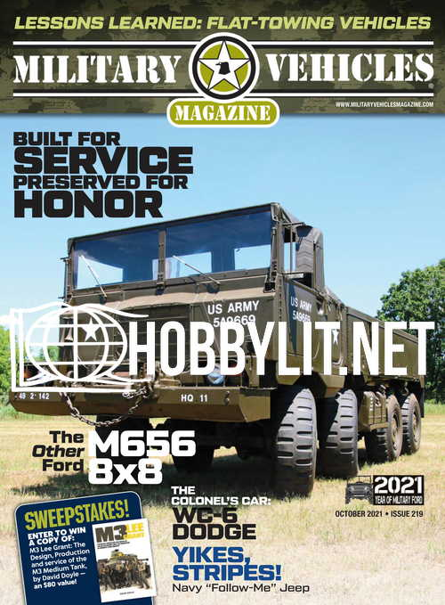 Military Vehicles - October 2021