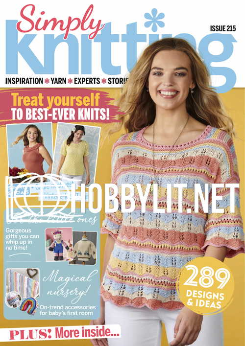 Simply Knitting Issue 215