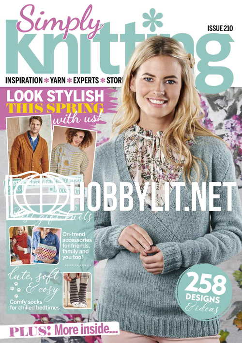 Simply Knitting Issue 210