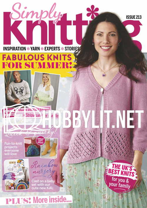 Simply Knitting Issue 213