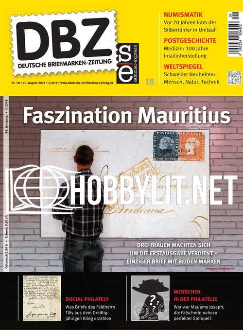 Deutsche Briefrmarken-Zeitung 20 August 2021