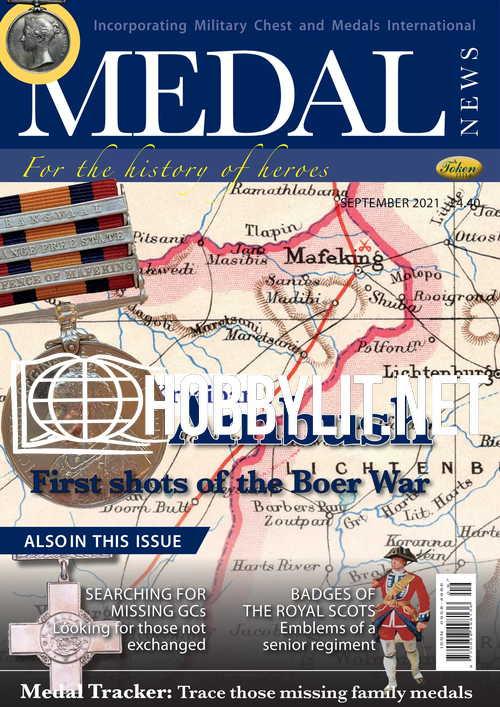 Medal News - September 2021
