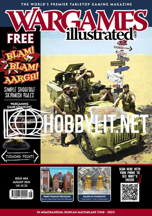 Wargames Illustrated - August 2021