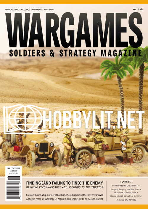 Wargames Soldiers & Strategy Magazine – September/October 2021