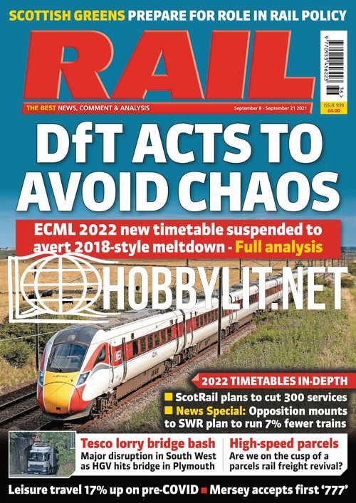 RAIL – 08 September 2021
