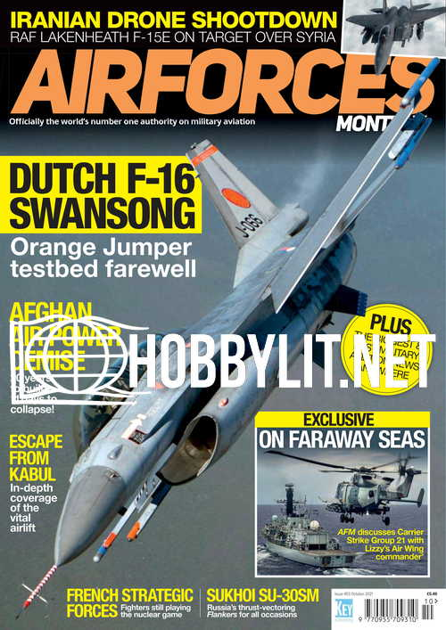 Air Forces Monthly - October 2021