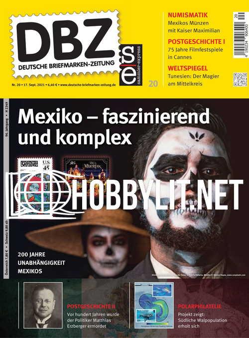 Deutsche Briefmarken-Zeitung 17 September 2021