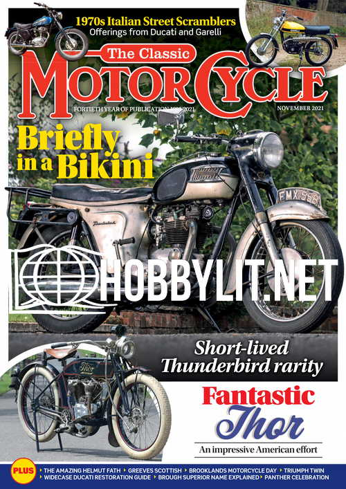 The Classic MotorCycle - November 2021