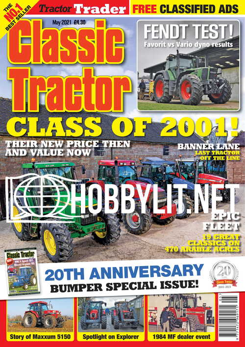 Classic Tractor - May 2021