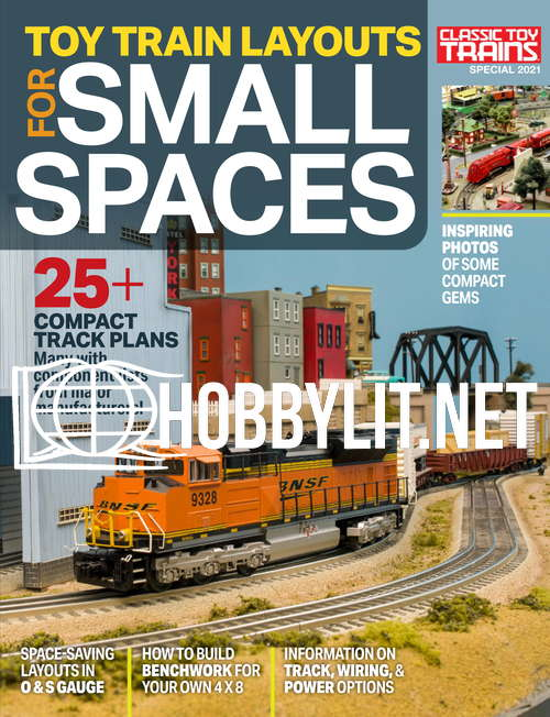 Toy Train Layouts for Small Spaces