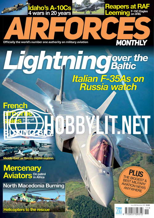 Air Forces Monthly - November 2021