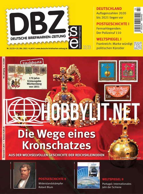 Deutsche Briefmarken-Zeitung – 22 Oktober 2021