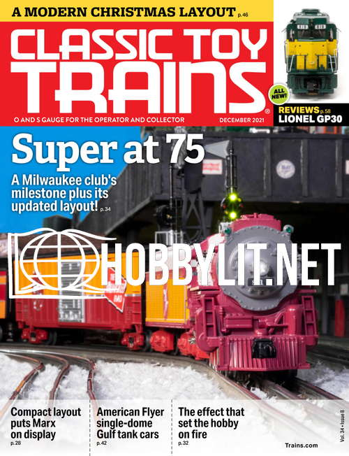 Classic Toy Trains - December 2021