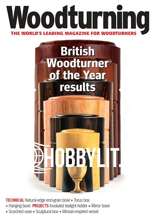 Woodturning - August 2019